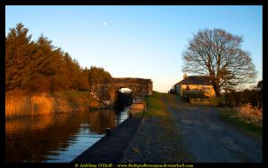 Golden Canal Eve, Ireland II by fluffyvolkswagen