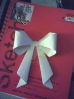Origami Bow by InvaderCye