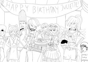 A Rainbow-Dashed birthday for Juliette by Muramasa91