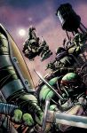 Color Practise TMNT Deviations Cover by SkySunnymQ
