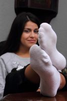 Cutie in socks 4 by jason9800player2
