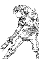 Twilight Princess Sketch by jmatchead
