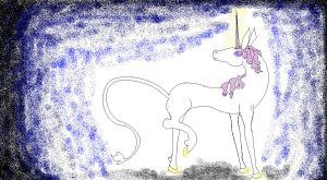 Unicorn colored by AmaltheaTwin