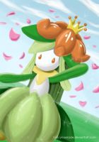 Lilligant - Dance in sunlight by GlacyRoserade