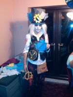 Steampunk Horror Mad hatter 3 by KyoTheKat