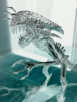 wire alien negative by braindeadmystuff