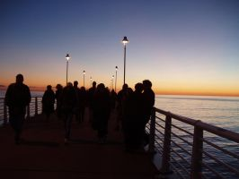 stroll on the pier by americanina