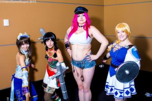 PAX East 2015 - Street/Final Calibur by VideoGameStupid