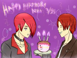 HAPPY BIRTHDAY IORI by chmosca