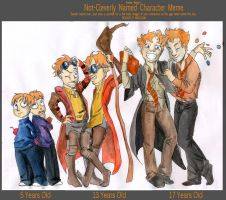 Weasley Age Meme by poly-m