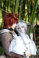 Lovely Pair 02 by deVIOsART