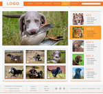 Hunting Dogs website concept by HAZARDOS