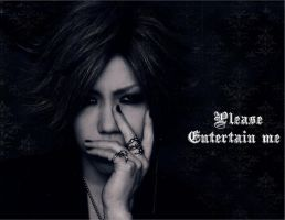 Aoi - Please Entertain Me. by Crimson-Truth