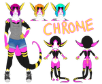 Chrome Human Ref by ArkanFire
