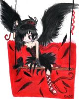 "Contest ""wings"" : Helena. by lovescraf"