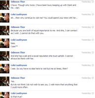 Thor and Loki FB convo 5 by JadenTheFangirl