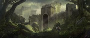 Ruins by Skyrion