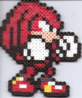 Knuckles by Ravenfox-Beadsprites