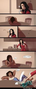 Korrasami Week Day 1: Domestic Life by plastic-pipes