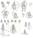 Sketch Dump 1 by Xenozoa