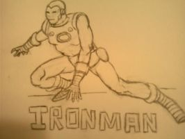 Ironman no color by Redcavalier