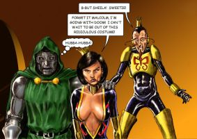 TLIID Venture Brothers and Doctor Doom mash-up by Nick-Perks
