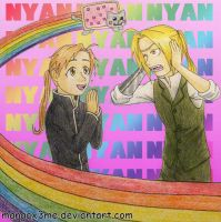 FMA - Keeping NyanCat? by MangaX3me