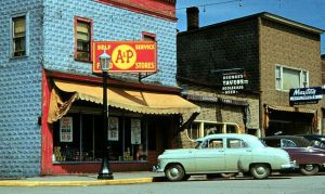 My Town in the 50's by Joseph-Porta