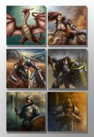 Fantasy Characters images set by ARTOFJUSTAMAN
