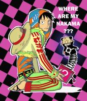 Where are my Nakama by LadyDeadPooly