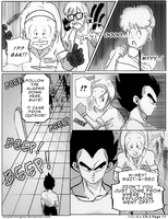 Dbz: Bulma and Vegeta - Firstkiss: Chapter 2, Pg17 by longlovevegeta