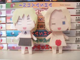 APH Papercraft - OMG by Demmi-chan