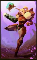 A Metroid Moment by kaj18