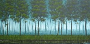 Turquoise Forest by VenskeArts