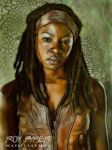 The Walking Dead: Michonne: Fractalius Re-Edit by nerdboy69