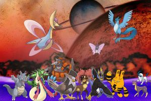 pokemon in the world of doom by laila549