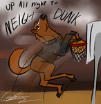 Neigh Dunk by GingaAkam