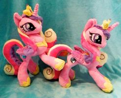 Princess Cadence Plushies SOLD by Soft-Sensations