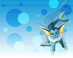 Vaporeon Wallpaper by Wakki