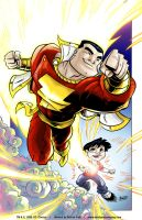 The Magic of SHAZAM by derrickfish