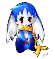 Klonoa: King of Sorrow chibi by Michiru-xX