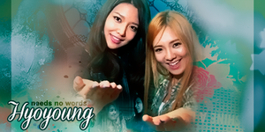 Hyoyoung | signature by lillullabyblue
