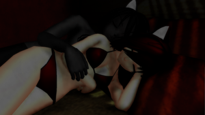 Cuddle :MMD: by Nikoman3344