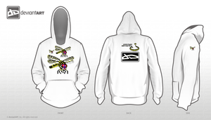 Dragonfly pixel hoody entry 1 by Ultimaodin