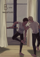 B is for Balletlock by DaintyMendax
