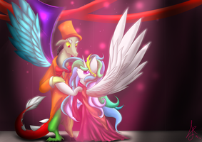 The immortal dance by SirANarchy95