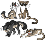 Kitters  by InfectedZombieX