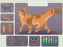 The-Rainfall-Effect | Carpstar | RiverClan Leader by indesomniac