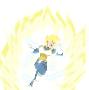 Super Saiyan 2 Tarragon by Gariandos