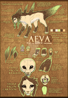 {Ref sheet} AEVA true form. by nebulAeva